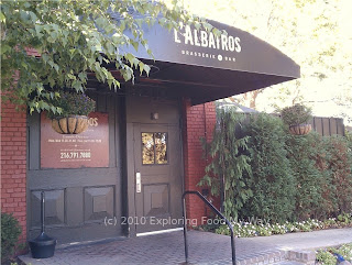 Entrance to L'Albatros Brasserie and Bar