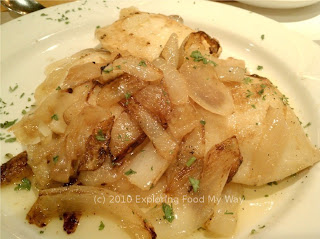 Homemade Potato and Cheese Pierogi with Grilled Onions