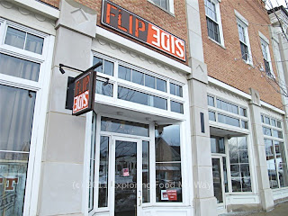 Front Entrance to Flip Side in Hudson, Ohio