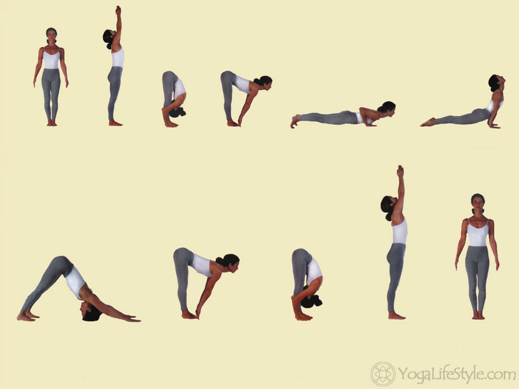 Sun Salutation A sequence