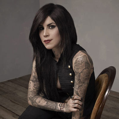 on making a tattoo demonstrated by LA Ink's very own Kat Von D