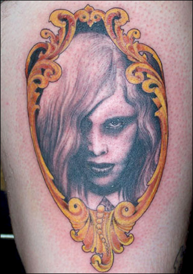 kate von d tattoo. Miami Ink : Kat Von D Tattoo