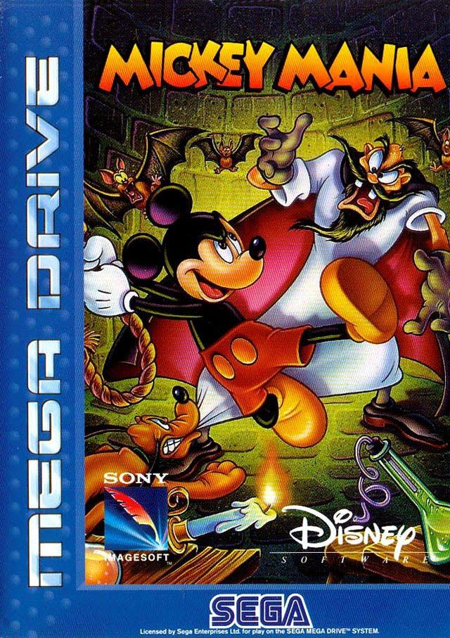 Défi 30 jours (or so) de jeux vidéos Mickey+mania