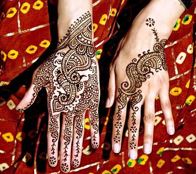 Punjabi Mehndi Design for