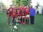 Equipe campeã do 1ºTorneio de Futebol Society da P.I.B. em S.F.Itabapoana