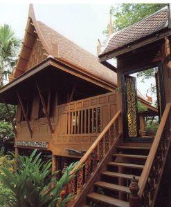 Pin thai house on pinterest for Thai classic house
