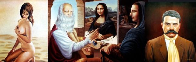 Pintor Juan Huitrón Lugo