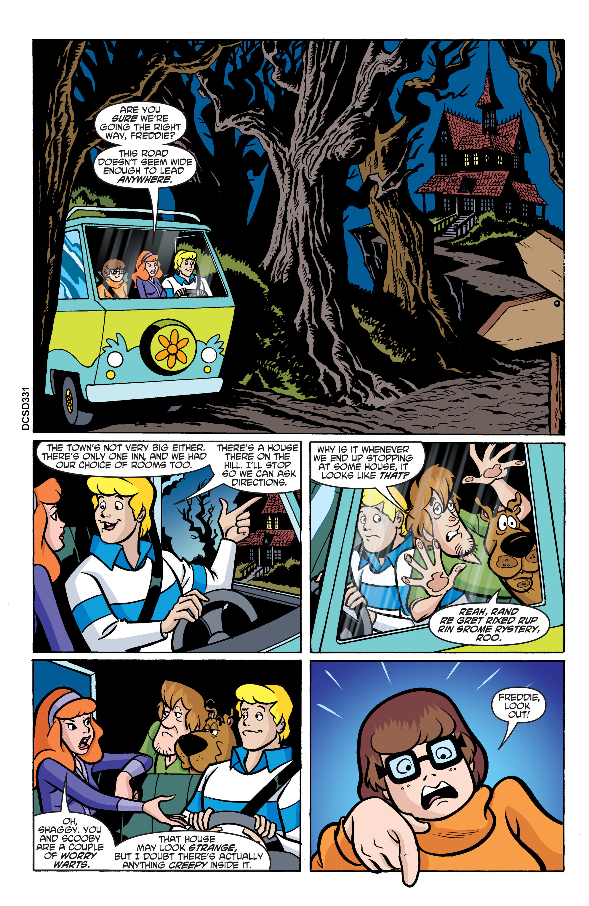 Read online Scooby-Doo: Where Are You? comic -  Issue #76 - 12