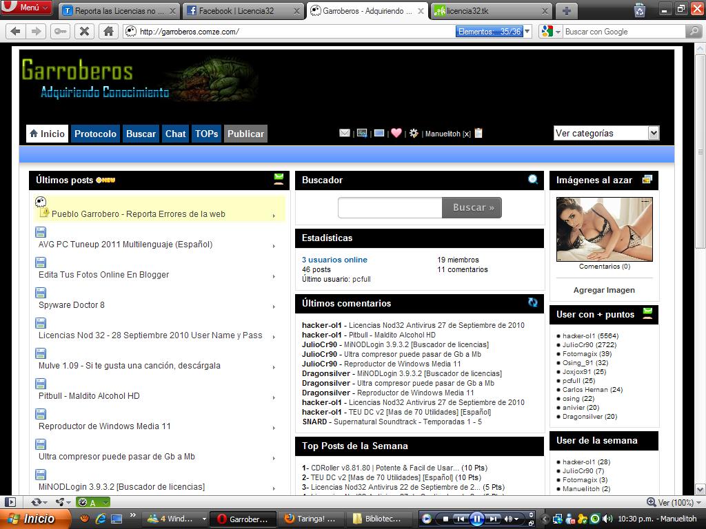 Usuario Y Contrase A Nod32 4 Actualizado 2012 Gratis