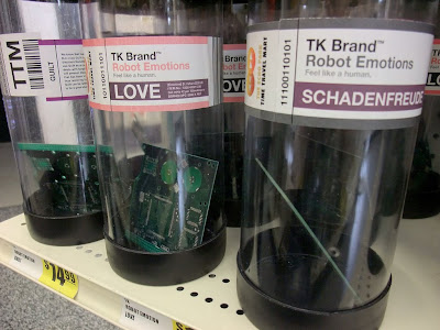 Imagen: Emociones de Robot: Culpabilidad, Amor, Júbilo