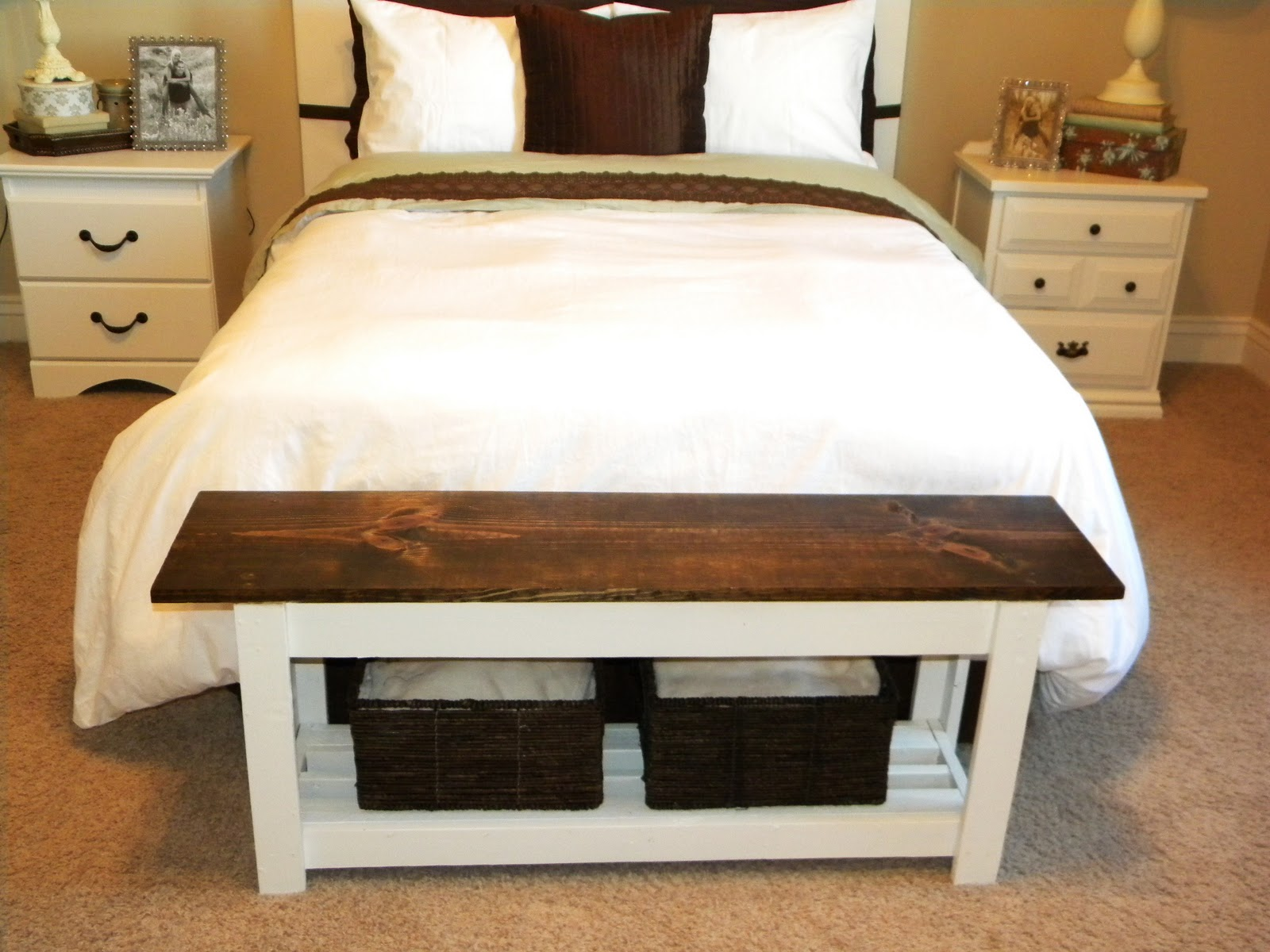 Diy End Of Bed Bench | Home Design Ideas, Pictures, Remodel and Decor