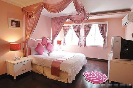 Hello Kitty House Inside the Bedroom