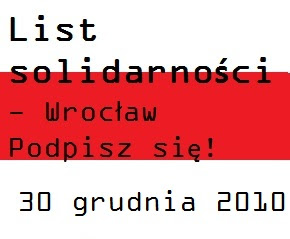 List solidarności