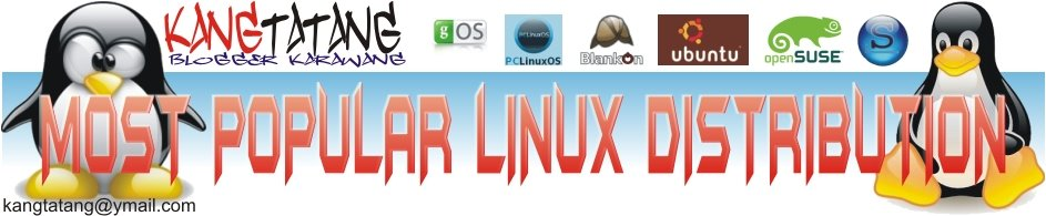most popular linux