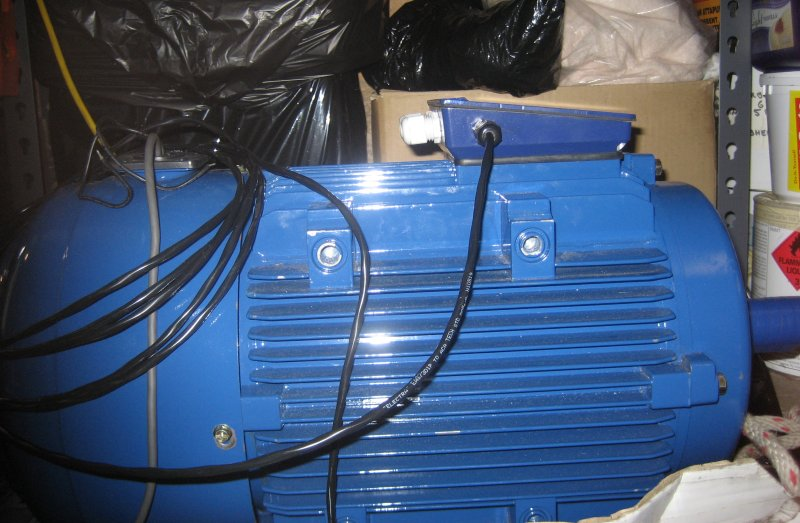 Electric Vogue  Final Terminal Box For Motor
