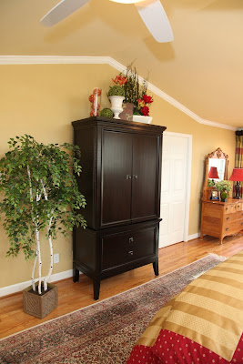 Matt Phillips Is One Of The Owners Of Ashley Furniture In St. Louis  Missouri, So It Was Only Fitting We Use Ashley Furniture! We Used An  Armoire And Chest ...