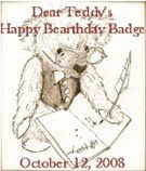 SaMpLe bearthday badge