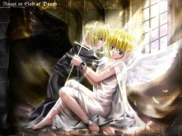 imagenes de angeles de amor. angeles de amor anime. angeles