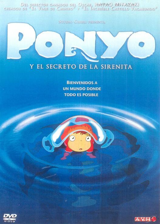 ponyo y el secreto de la sirenita Español