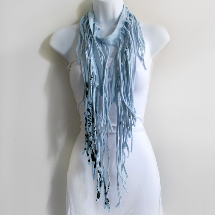 fashion and diy t shirt scarves how to
