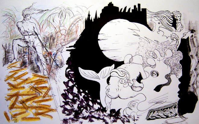 Ilustracion para revista Golem
