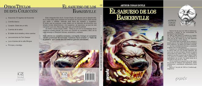 """Ilustracion de tapa """"El sabueso de los Baskerville"""""""