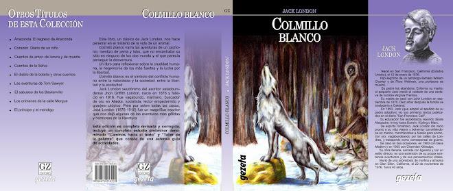 """Ilustracion de tapa para """"Colmillo Blanco"""""""