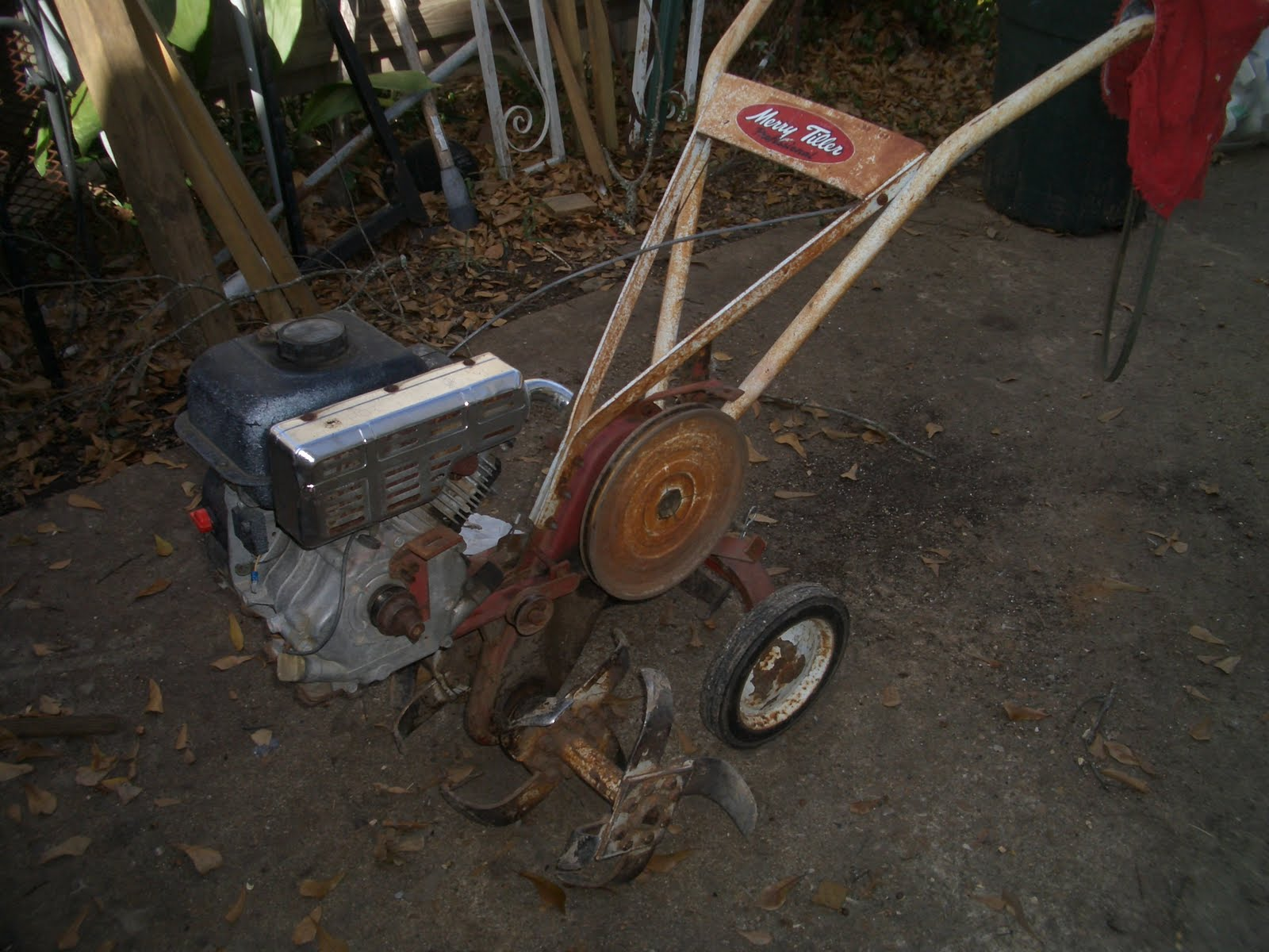 garden rototiller pull sears sale tiller watch youtube craftsman for behind