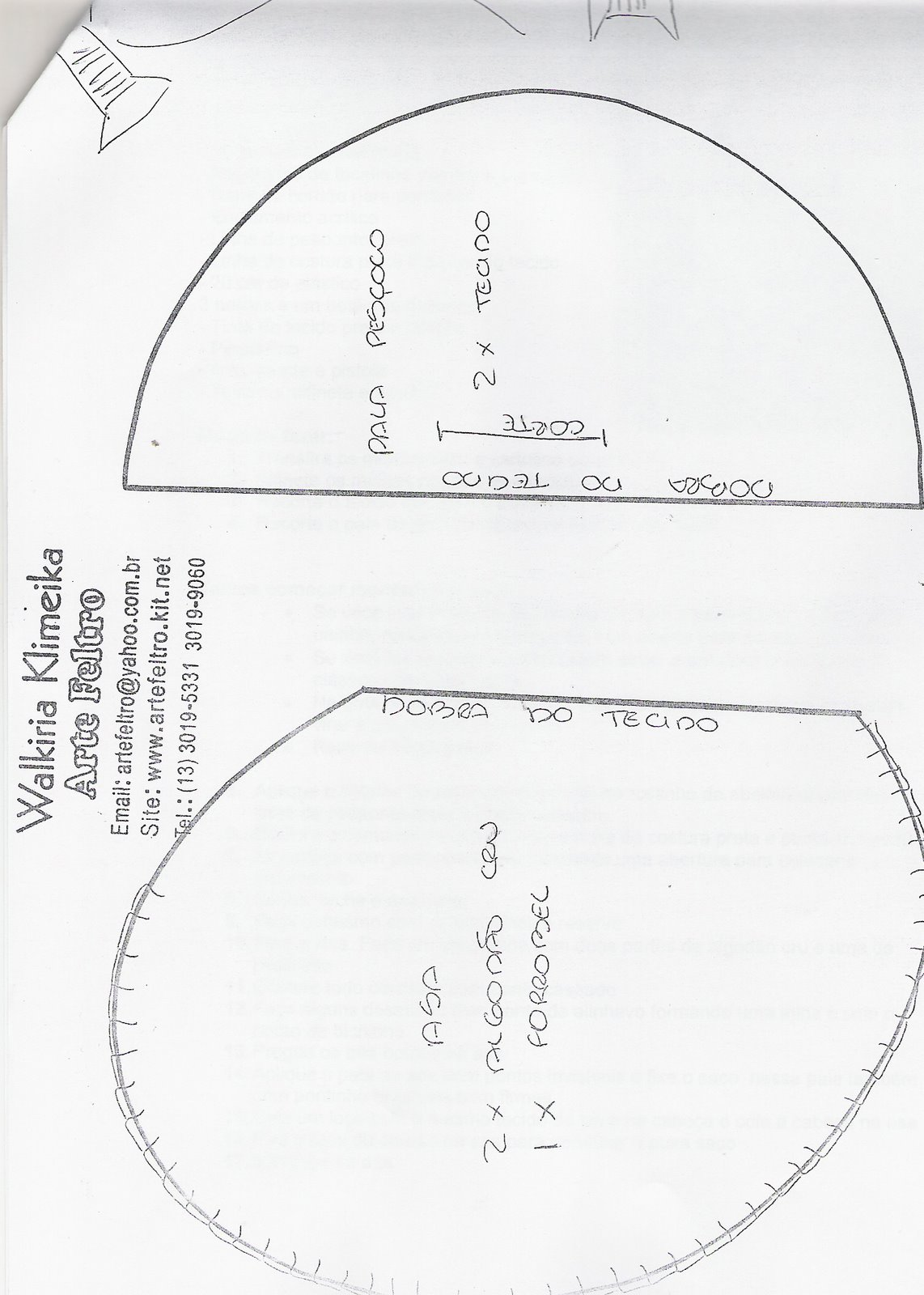 29 September 2010 Lilybabyshop ~ Molde De Touca Para Cozinha