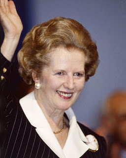 Margaret Thatcher sale del hospital