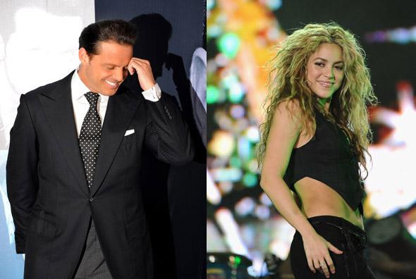 Luis Miguel y Shakira se pelean