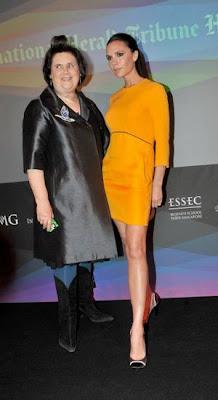 Amarillo canario y Victoria Beckham Fashion