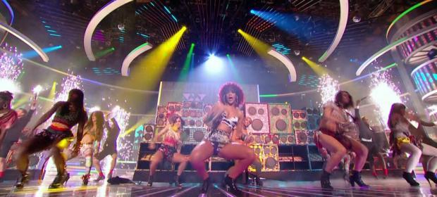 Factor X: Rihanna y Aguilera tv británica