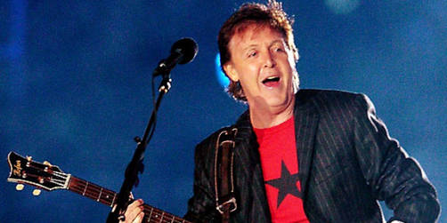 Paul McCartney en la boda de Kate Middleton