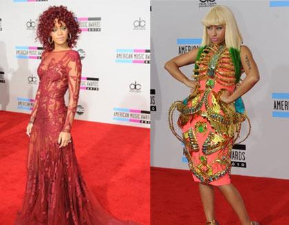 Nicki Minaj pareja de Rihanna