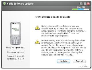 actualizaciones de firmware de Nokia