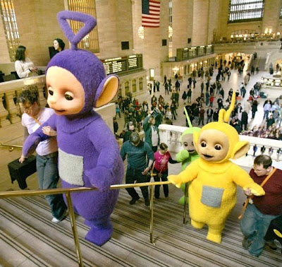 Fada Moranga: Fada Moranga loves the Teletubbies!