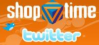Promoção Shoptime no Twitter
