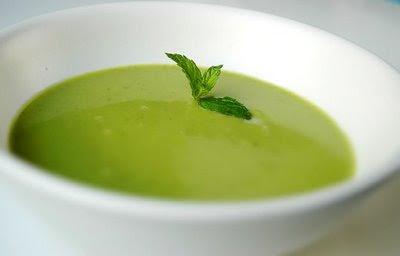 receta sopa de arvejas vegetariana