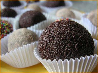 Receta Trufas de Chocolate Muy Ricas