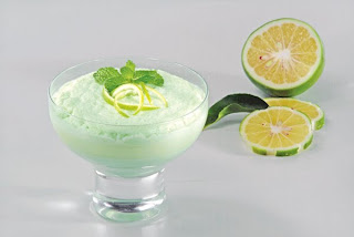 Receta Postre Nieve de Limon