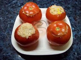Recetas Tomates Rellenos Vegetarianos