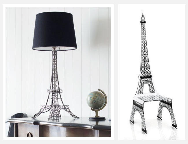 Eiffel Tower Furniture Decoration Access