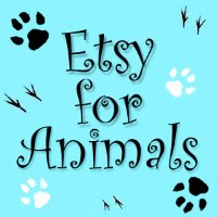 Proud member of Etsy for Animals