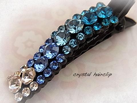 crystal hairclip