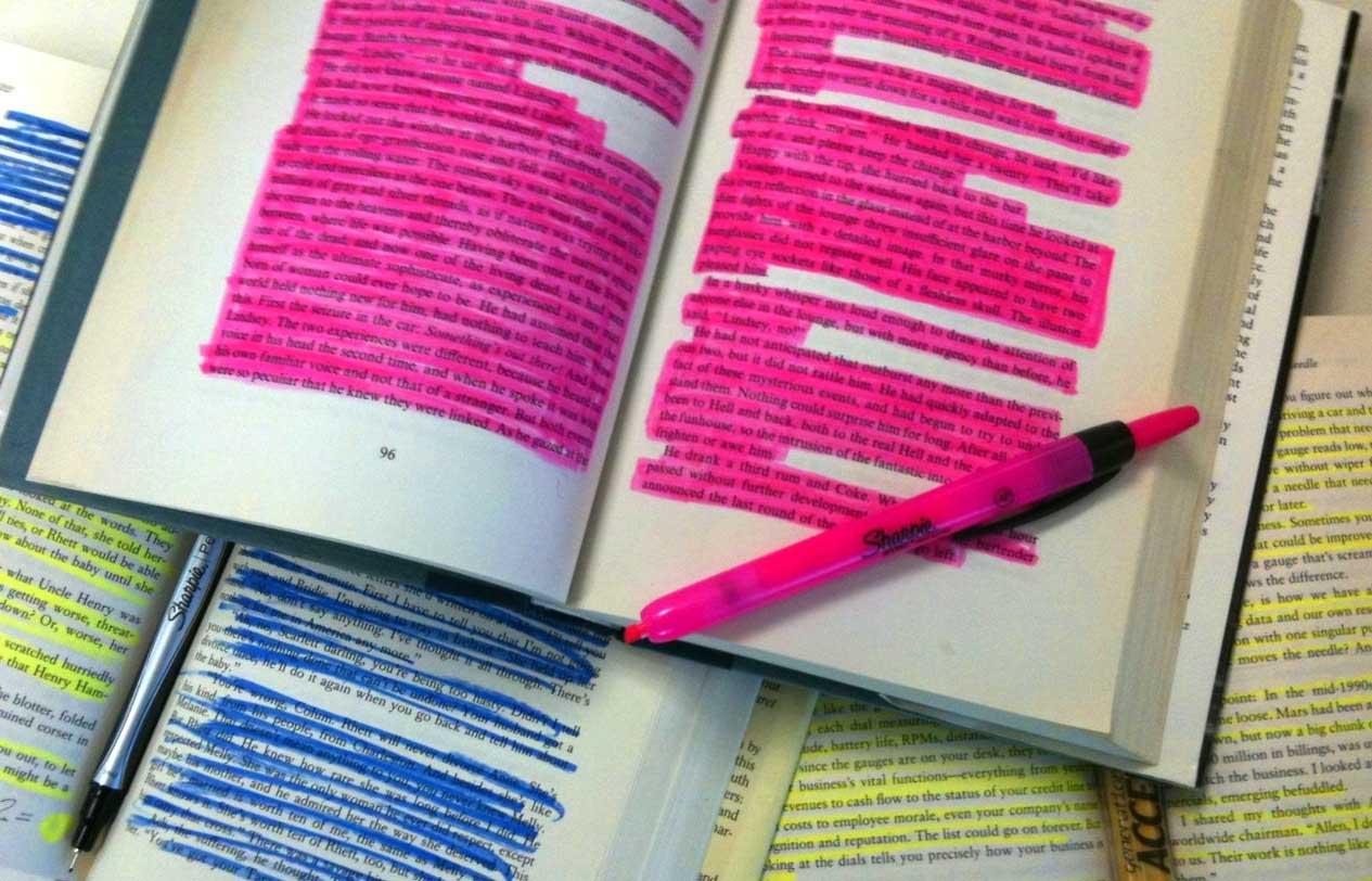 Unhelpful highlighting