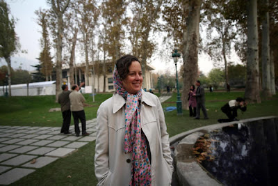 Tori in Tehran, taken by Newsha Tavakolian