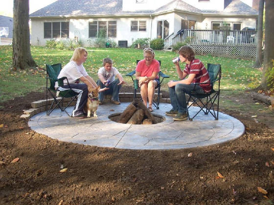 Firepits for Prefabricated fire pits