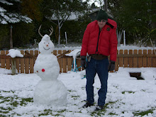 Ryan and his snowman