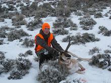 Wayne with his buck antelope